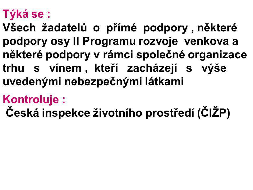 Česká inspekce životního prostředí (ČIŽP)