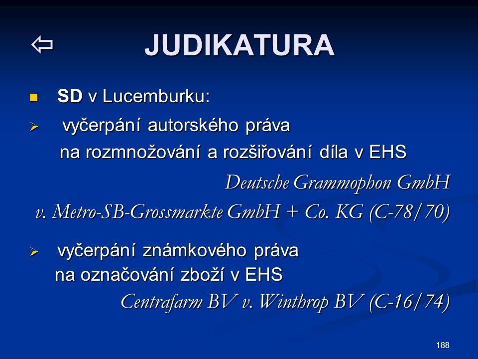  JUDIKATURA Deutsche Grammophon GmbH