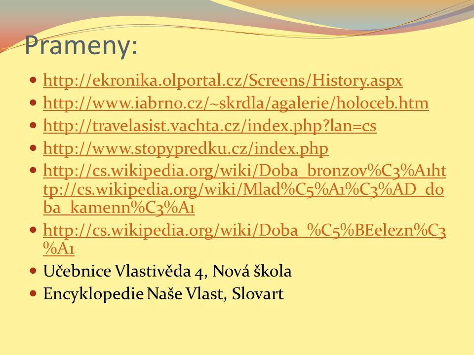 Prameny: http://ekronika.olportal.cz/Screens/History.aspx