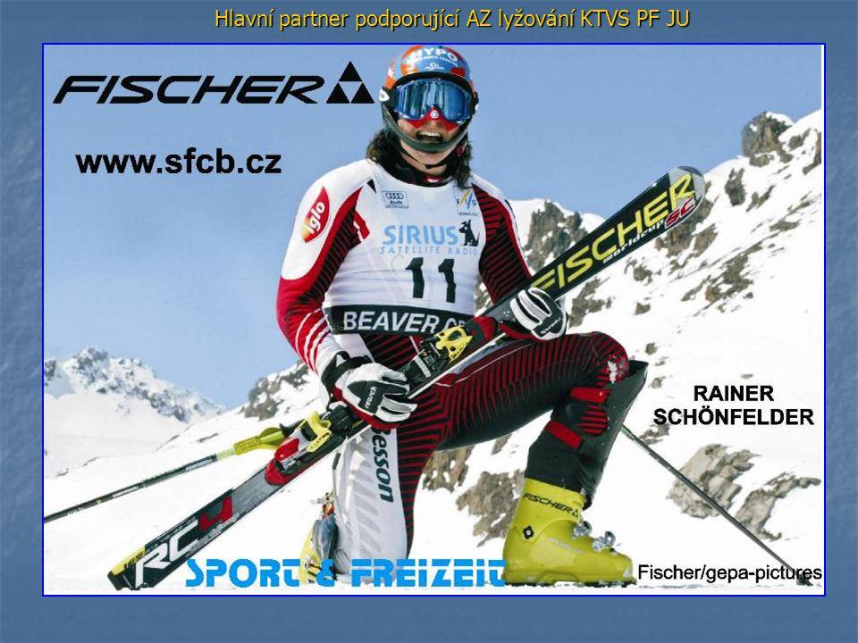 Hlavní partner podporující AZ lyžování KTVS PF JU