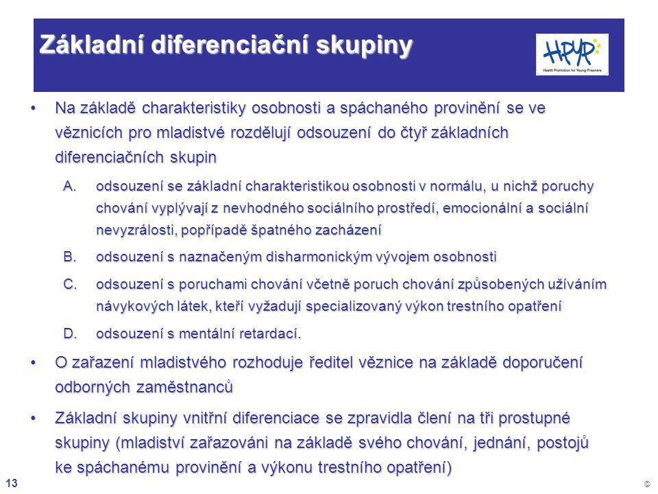 Základní diferenciační skupiny