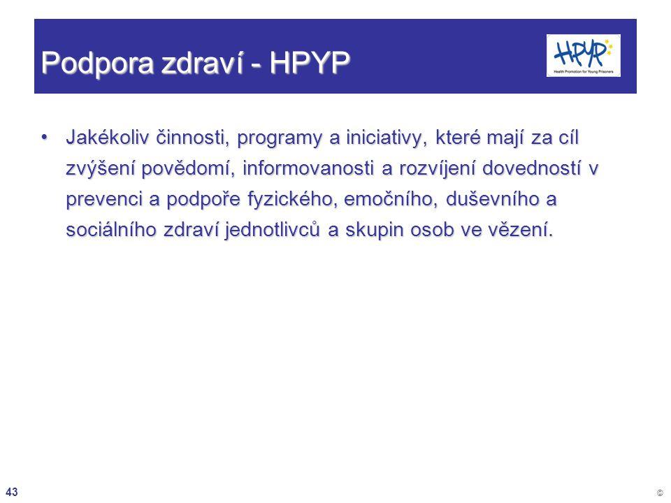 Podpora zdraví - HPYP