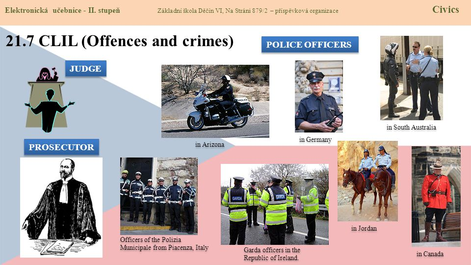 21.7 CLIL (Offences and crimes)