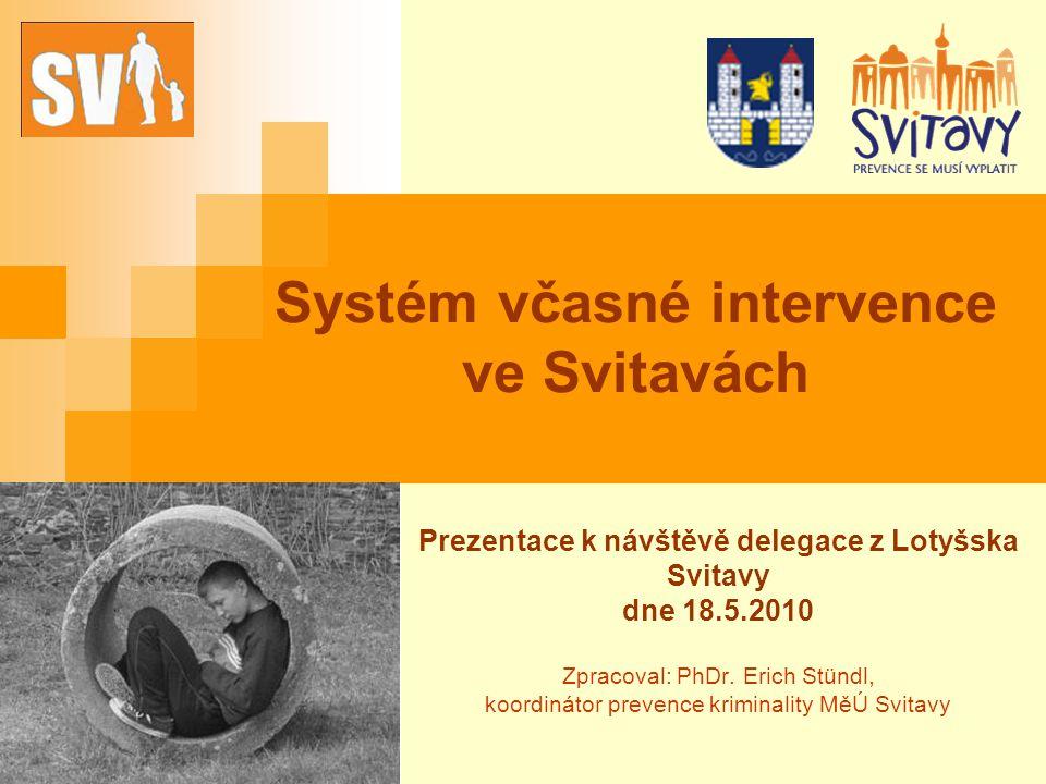 Systém včasné intervence ve Svitavách