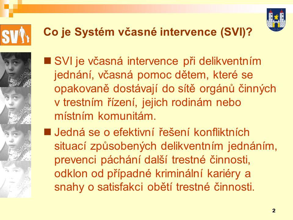 Co je Systém včasné intervence (SVI)