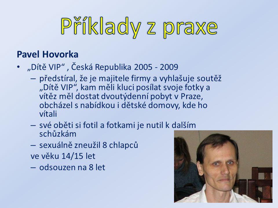 Příklady z praxe Pavel Hovorka