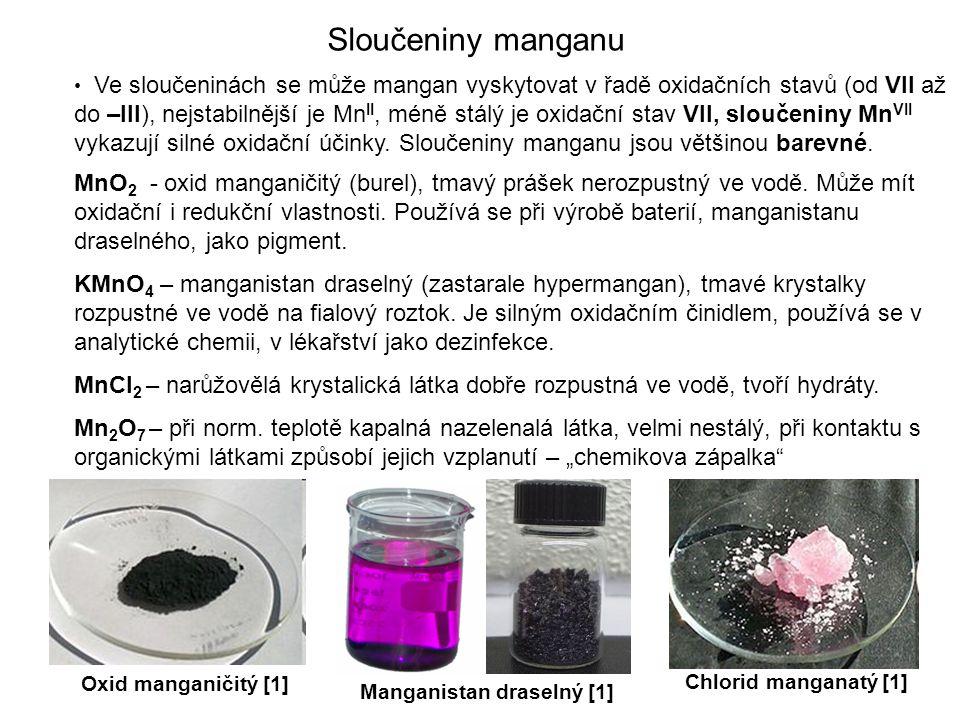 Sloučeniny manganu