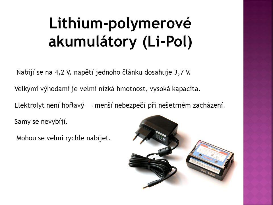 Lithium-polymerové akumulátory (Li-Pol)