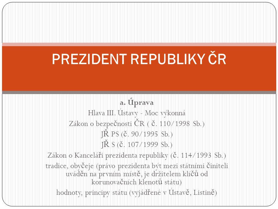 Prezident republiky ČR