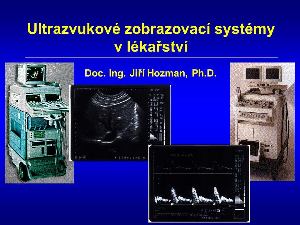 Ultrazvukové zobrazovací systémy
