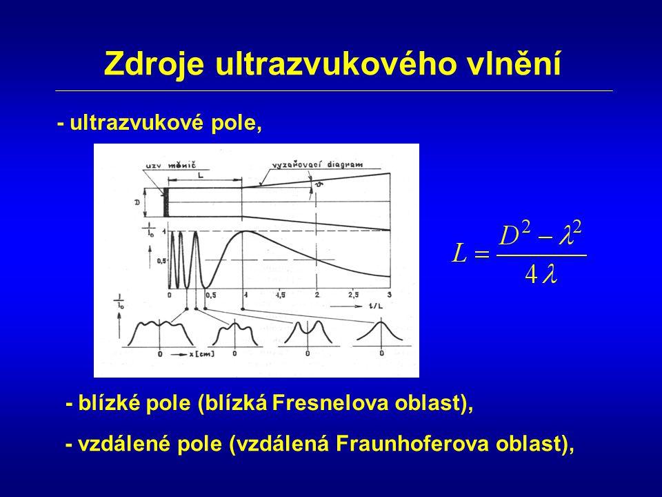 Zdroje ultrazvukového vlnění