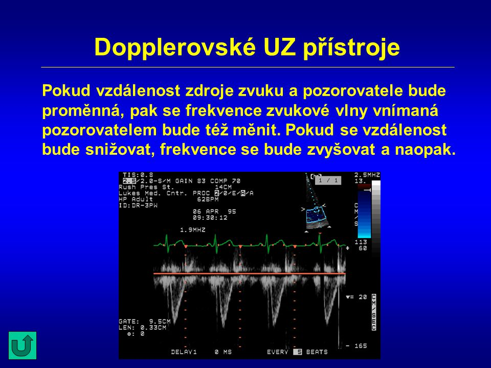 Dopplerovské UZ přístroje