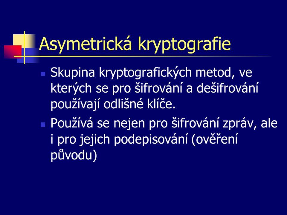 Asymetrická kryptografie