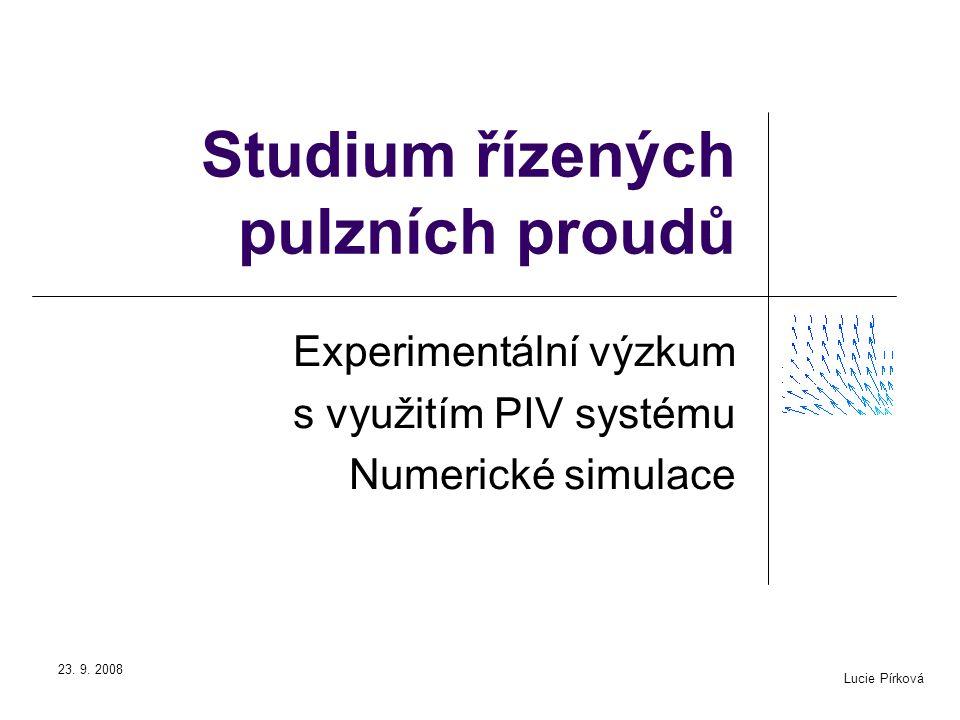 Studium řízených pulzních proudů