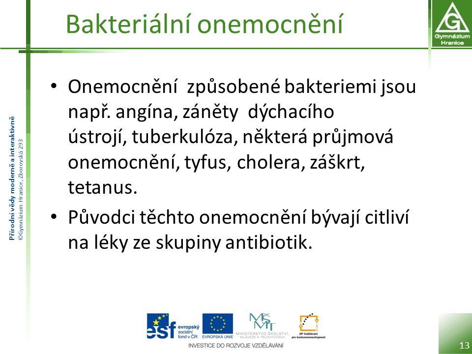 Bakteriální onemocnění