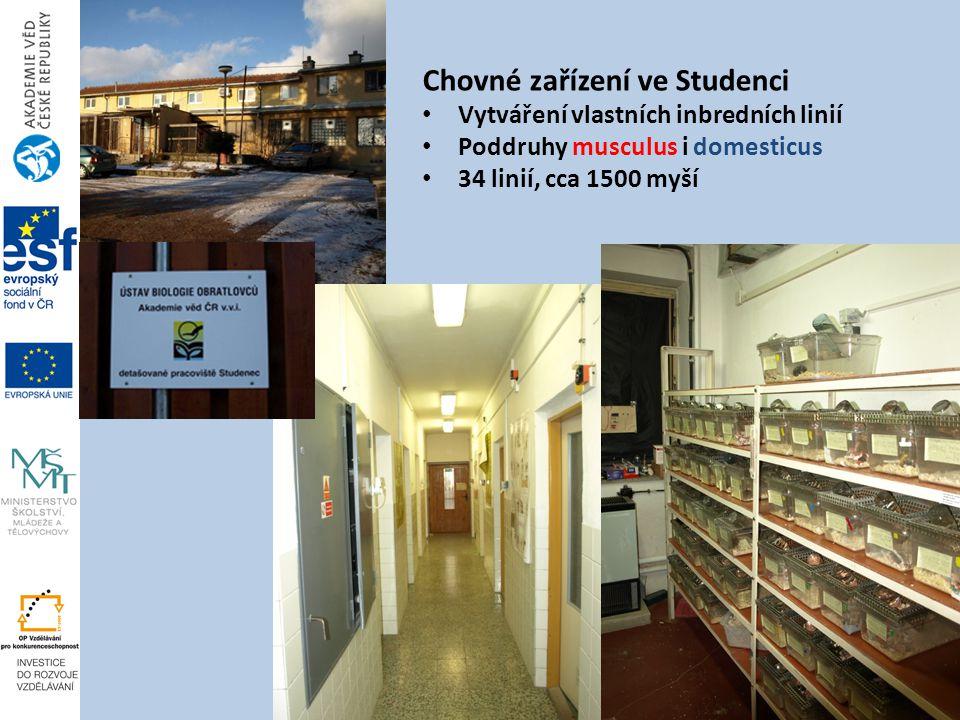 Chovné zařízení ve Studenci