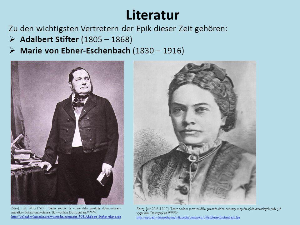 Literatur Zu den wichtigsten Vertretern der Epik dieser Zeit gehören: