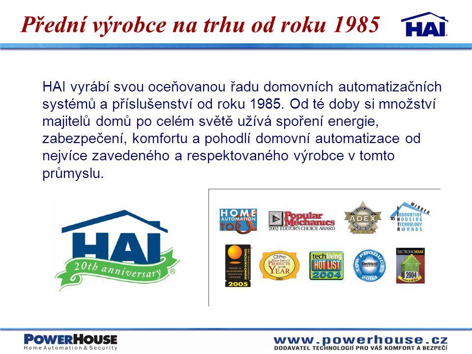 Přední výrobce na trhu od roku 1985