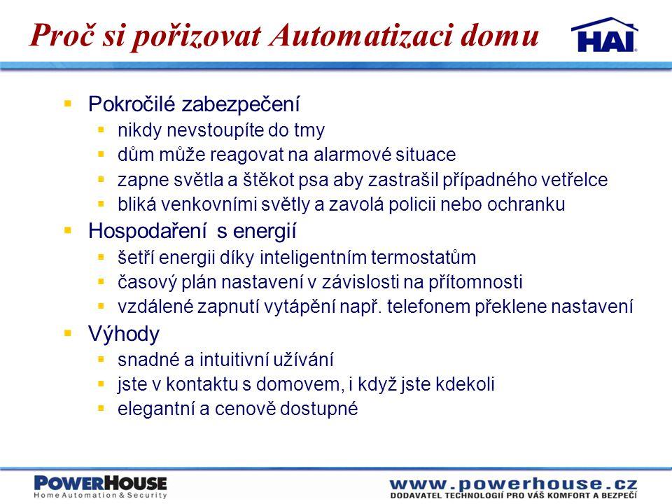 Proč si pořizovat Automatizaci domu