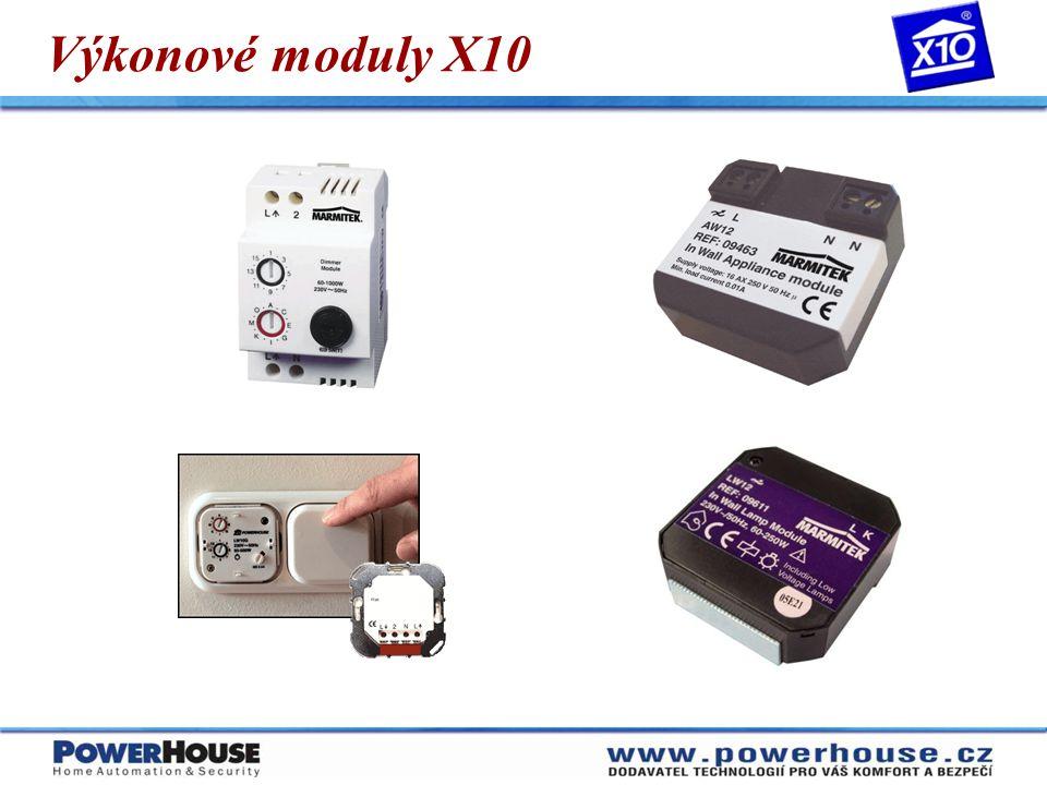 Výkonové moduly X10