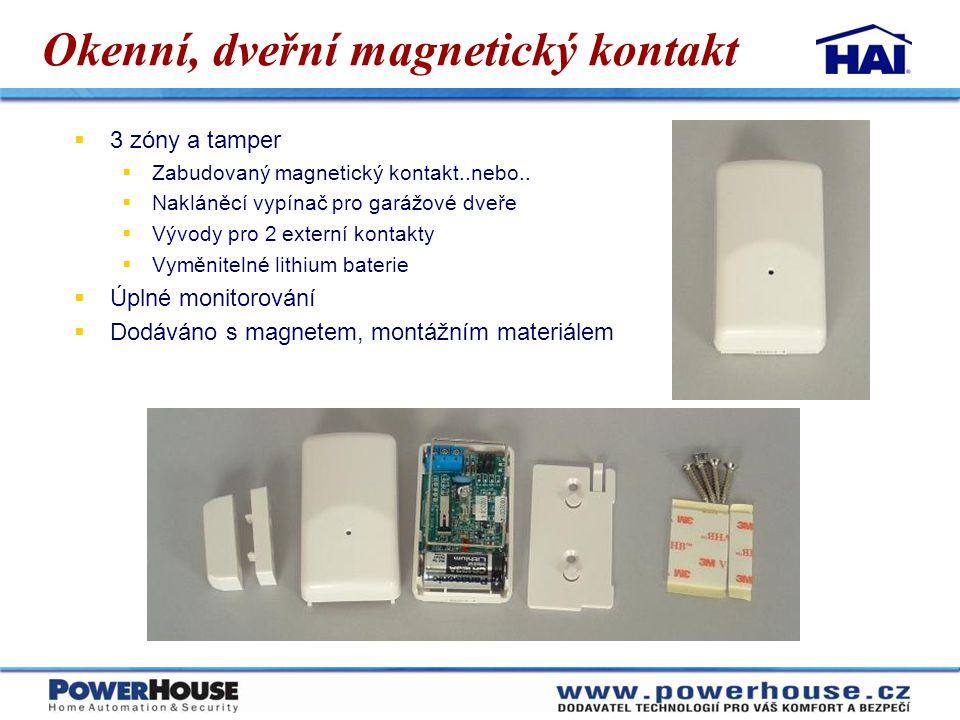 Okenní, dveřní magnetický kontakt