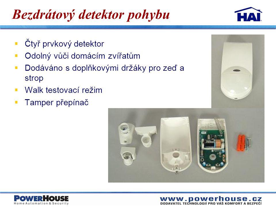 Bezdrátový detektor pohybu