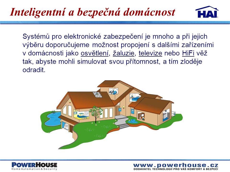 Inteligentní a bezpečná domácnost