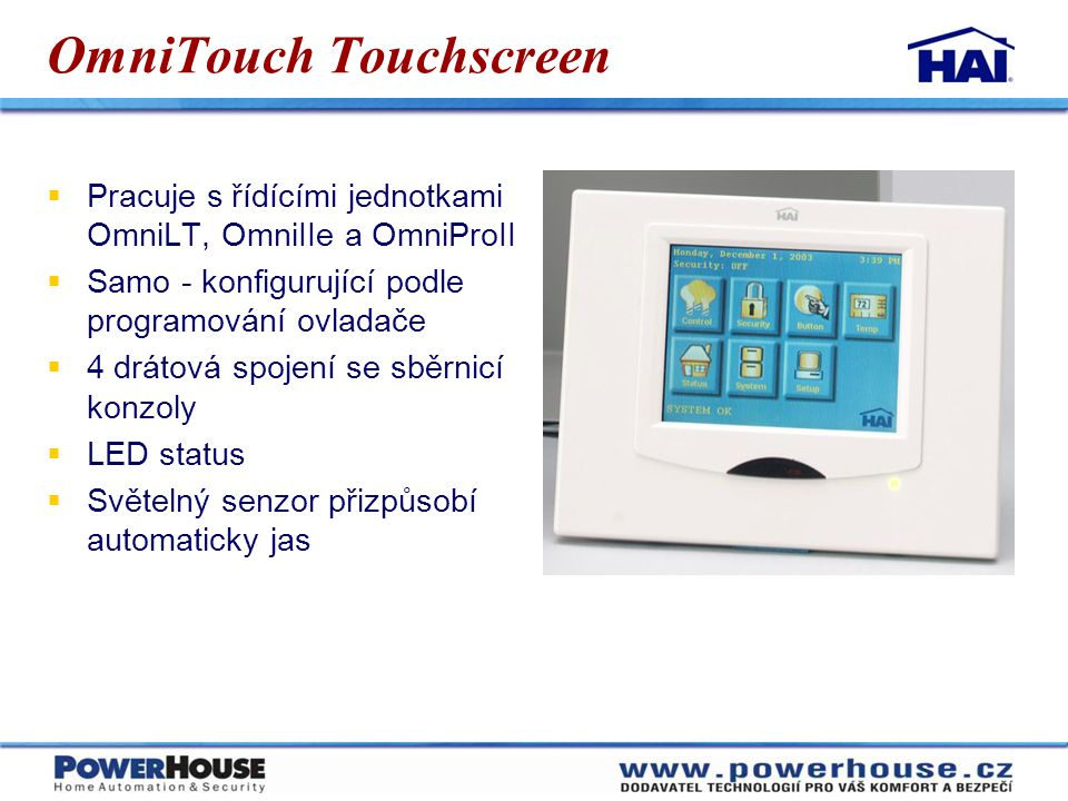 OmniTouch Touchscreen