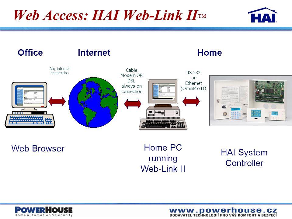 Web Access: HAI Web-Link II™