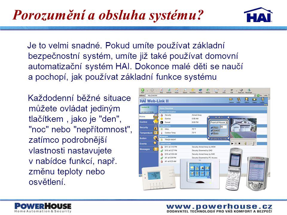 Porozumění a obsluha systému