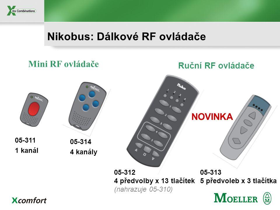 Nikobus: Dálkové RF ovládače