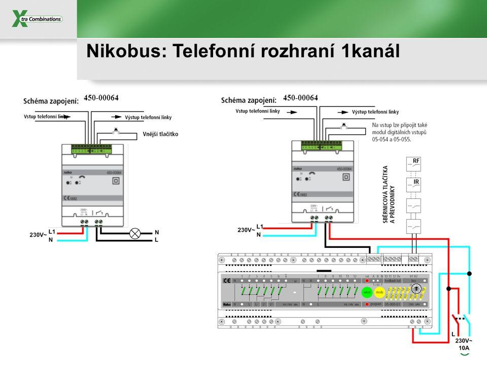 Nikobus: Telefonní rozhraní 1kanál