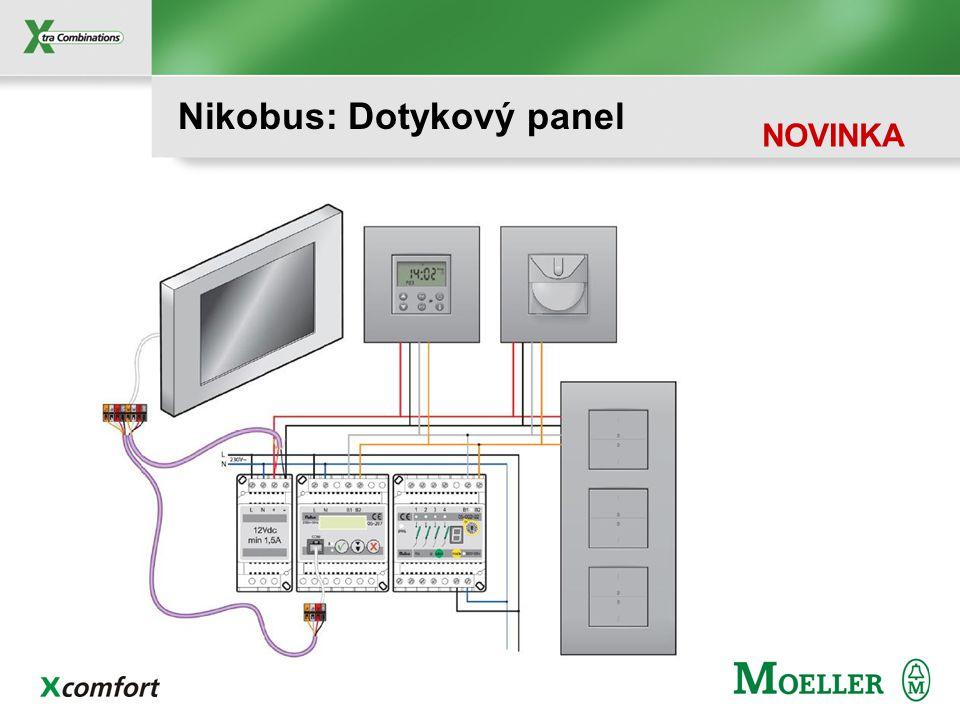 Nikobus: Dotykový panel