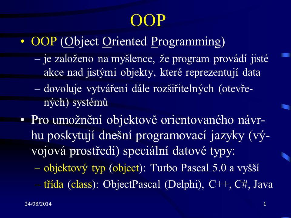 OOP OOP (Object Oriented Programming)