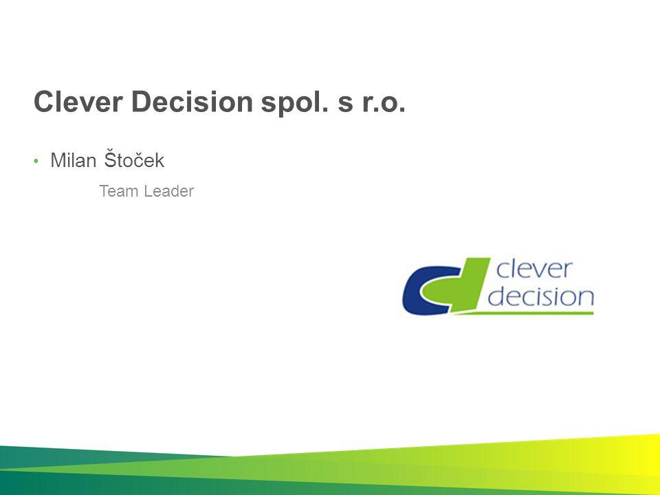 Clever Decision spol. s r.o.