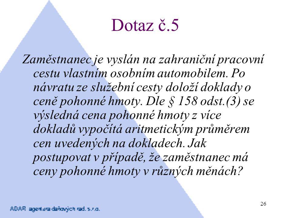 Dotaz č.5