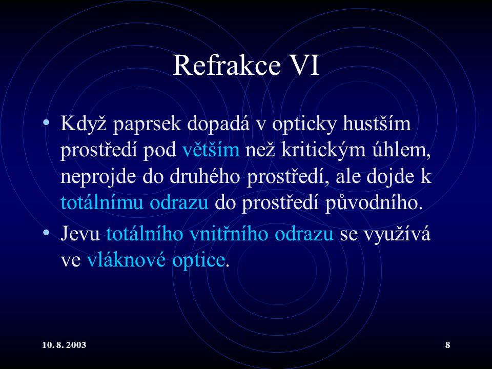 Refrakce VI