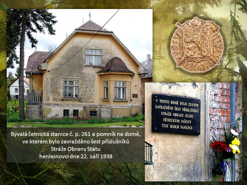 Bývalá četnická stanice č. p