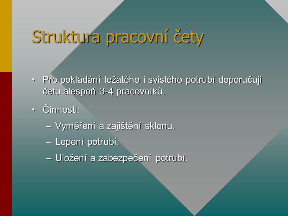 Struktura pracovní čety
