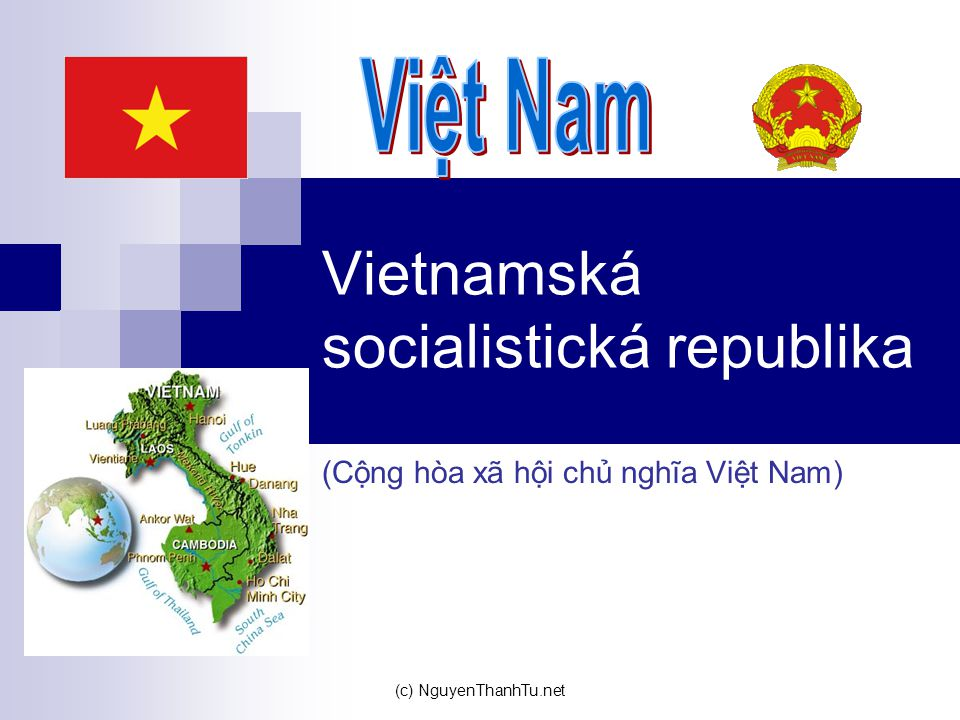 Vietnamská socialistická republika