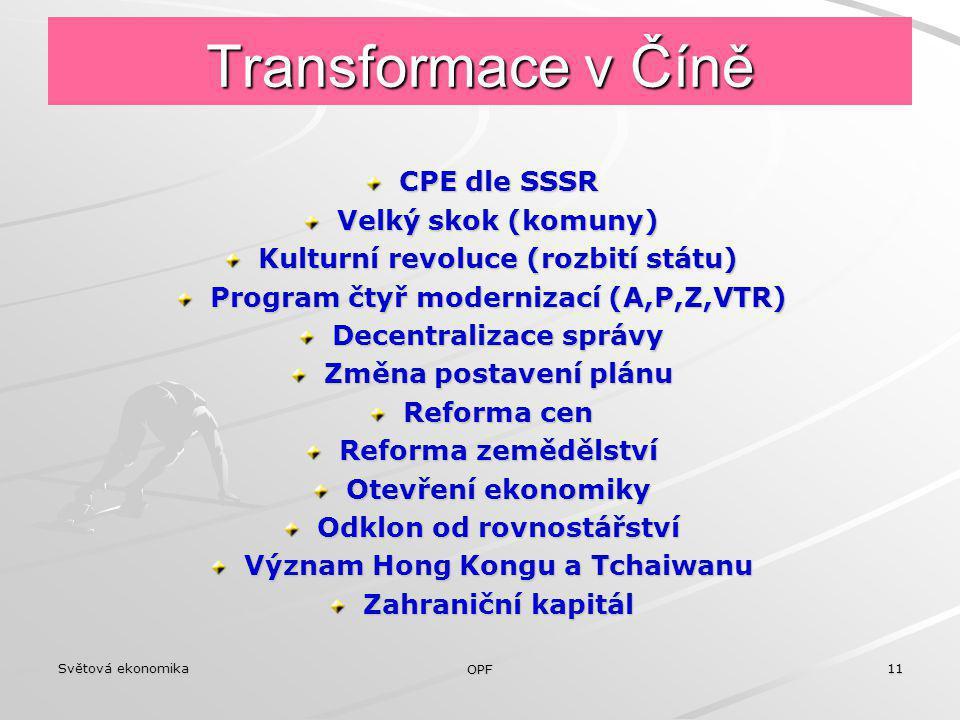 Transformace v Číně CPE dle SSSR Velký skok (komuny)