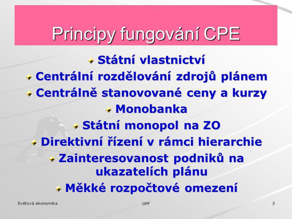 Principy fungování CPE