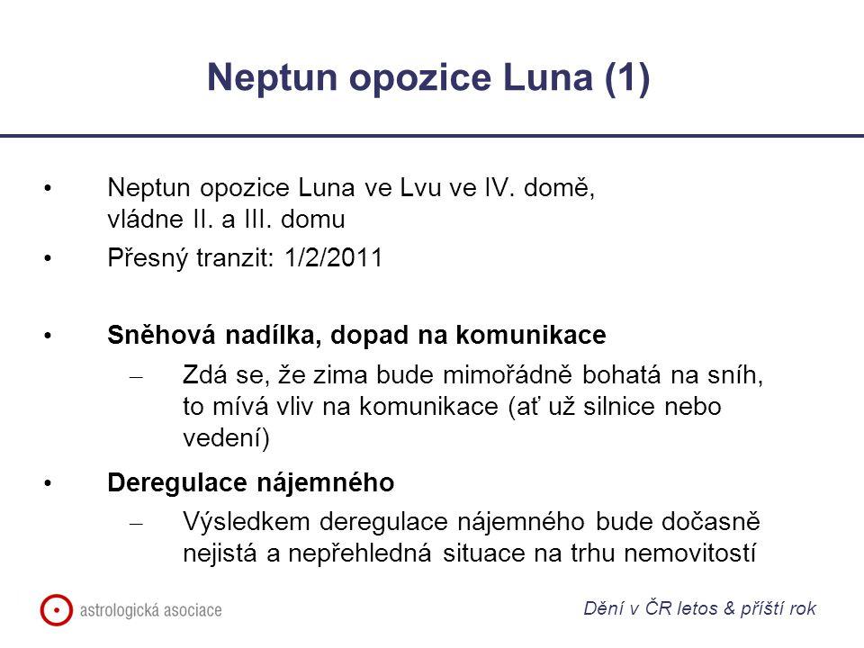 Neptun opozice Luna (1) Neptun opozice Luna ve Lvu ve IV. domě, vládne II. a III. domu.