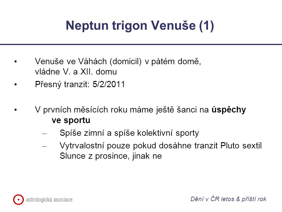 Neptun trigon Venuše (1)