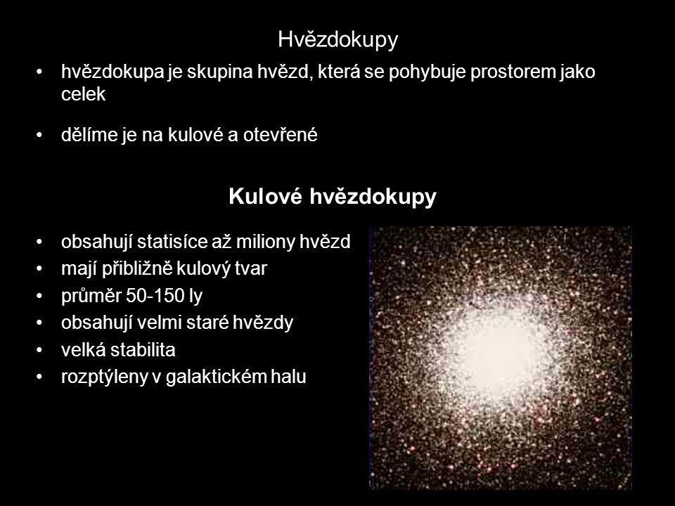 Hvězdokupy Kulové hvězdokupy