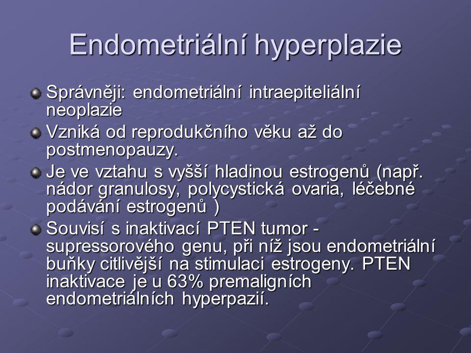 Endometriální hyperplazie