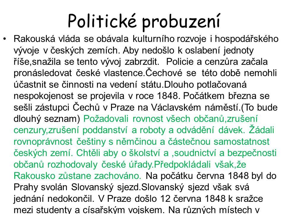 Politické probuzení