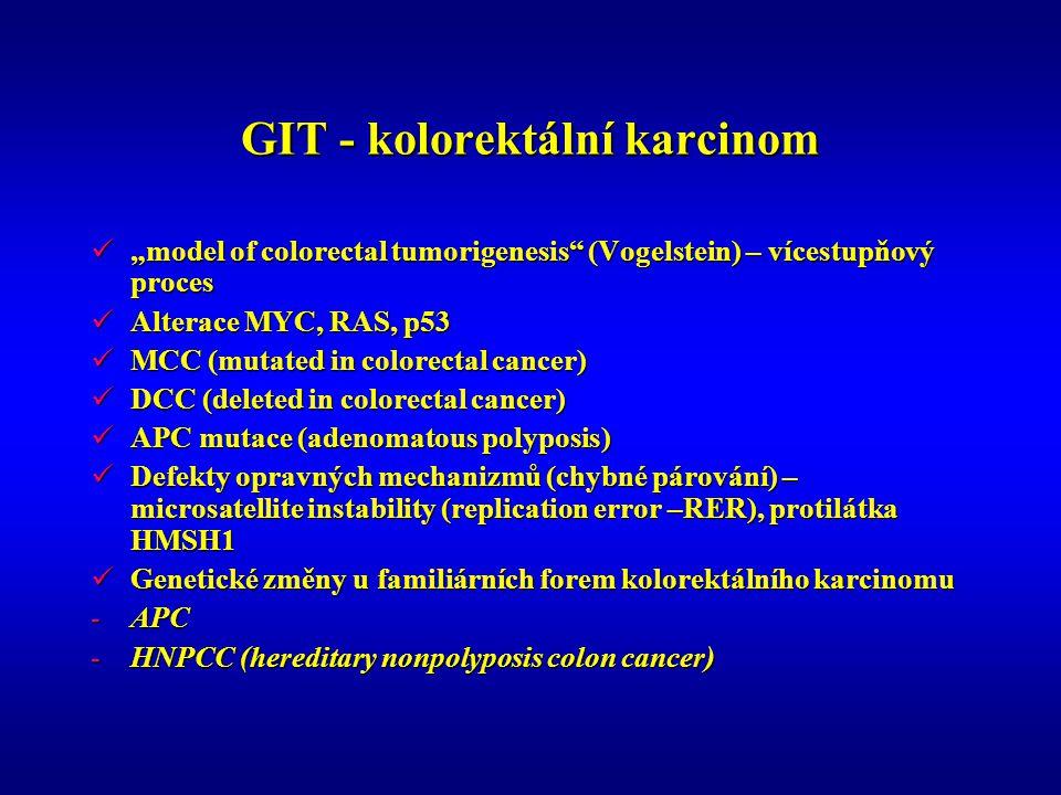 GIT - kolorektální karcinom