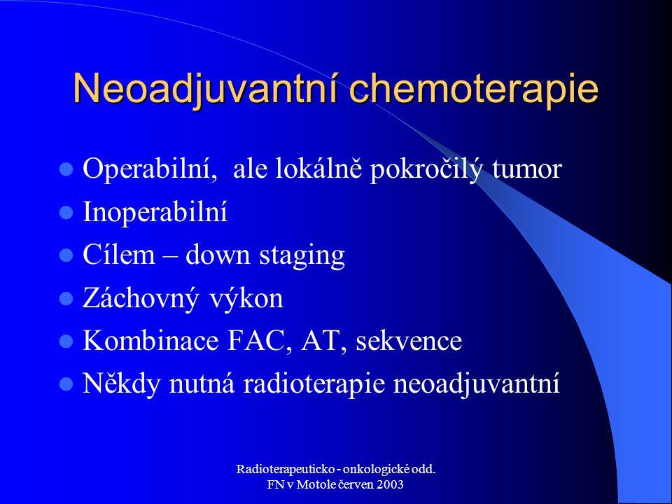 Neoadjuvantní chemoterapie