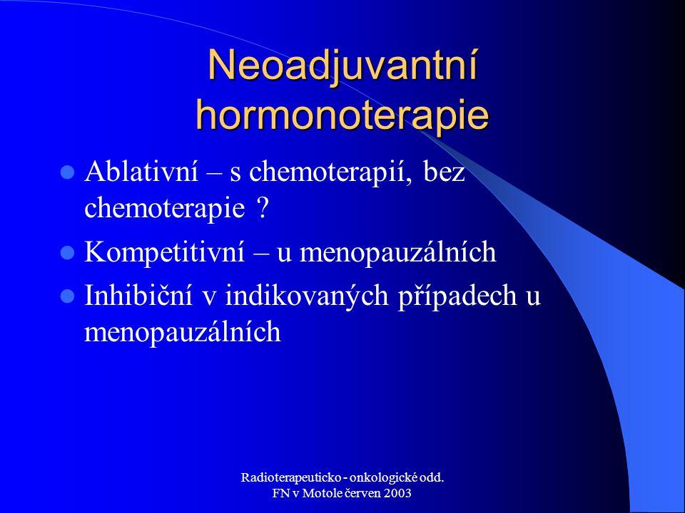 Neoadjuvantní hormonoterapie